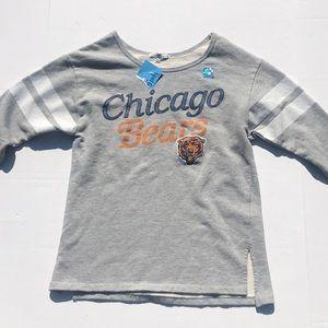 NWT Junk Food Chicago Bears Sweatshirt